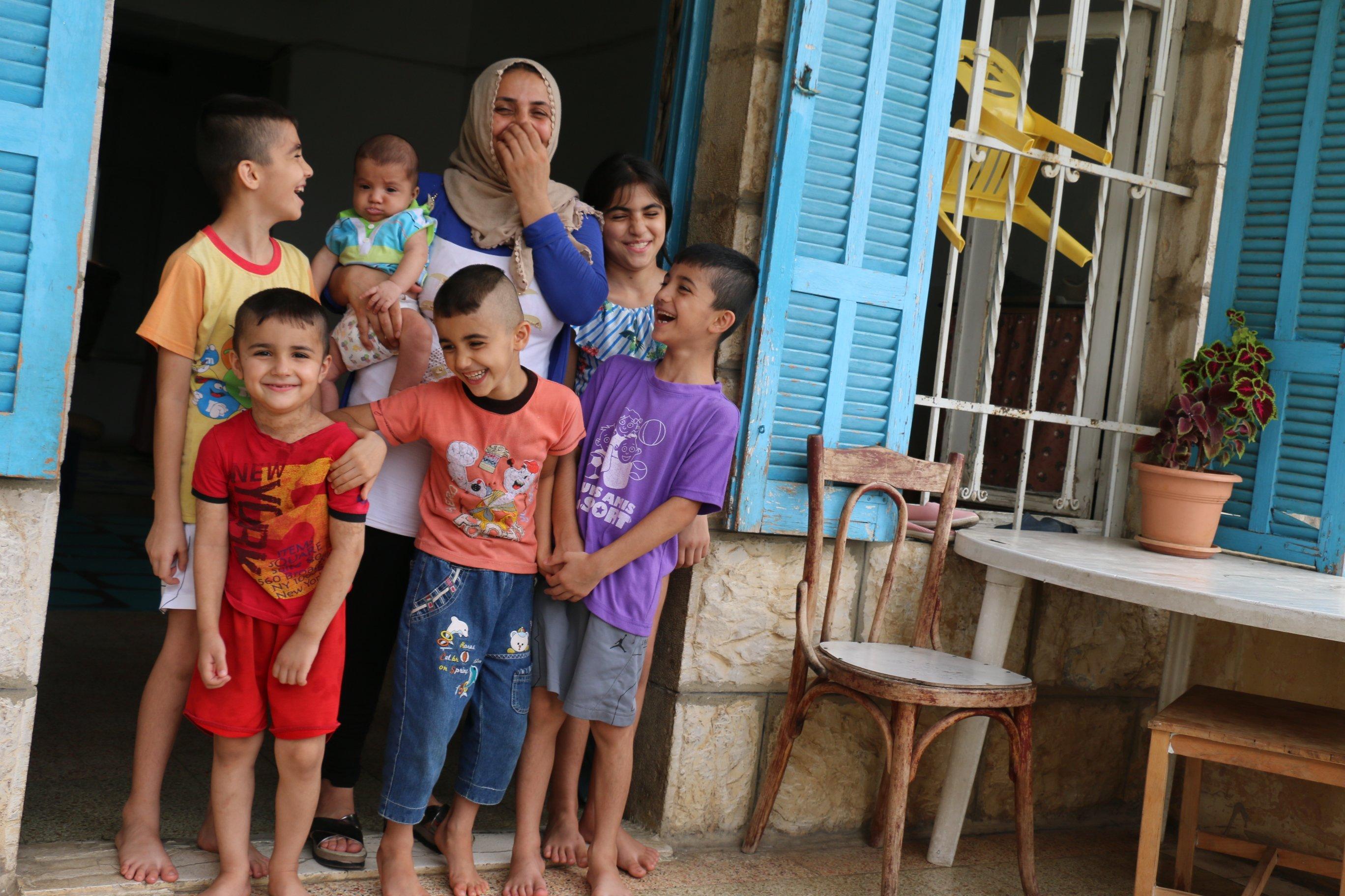 Dalia and Family_Family 4_Syrian refugee family in Leb_11